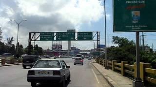 preview picture of video 'puente Av las Americas Santo Domingo 22 july 2011'