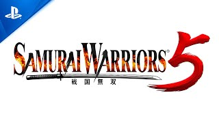 PlayStation Samurai Warriors 5 - Announcement Trailer   PS4 anuncio