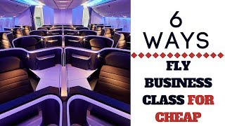 HOW TO FLY BUSINESS CLASS FOR CHEAP | SASSY FUNKE