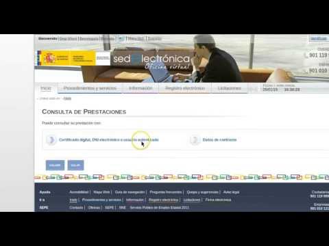 Formación online: SEPE. Consulta de la prestación por desempleo