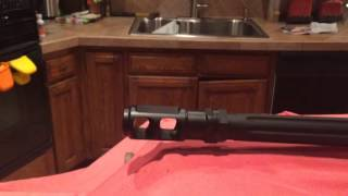 ZOMBIE GUNS~top 5 AR RIFLES REVIEW- Barrett 338 Lapua and Ruger 556 223