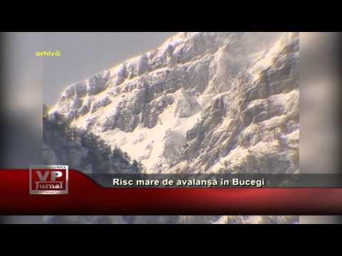 Risc mare de avalanșă în Bucegi