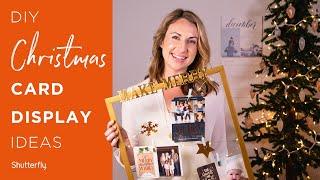 Christmas Card Displays: 5 Easy DIY Ideas