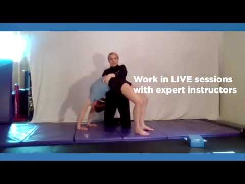 AcroDance certification online - by Acrobatic Arts - YouTube