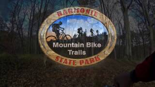 This video shows Oka Run to the second Chute Loop trailhead.