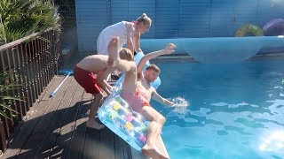 PRANK WARS!! I NEARLY KNOCKED MY BROTHER OUT!!
