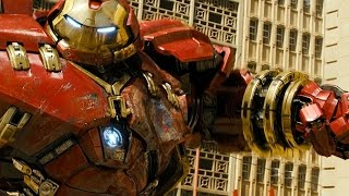 Avengers Age of Ultron - Hulk vs HulkBuster - Fight Scene - Movie CLIP HD