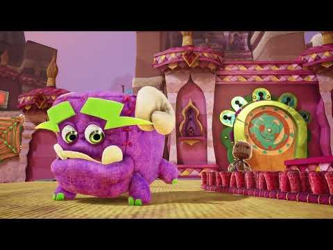 Видео № 0 из игры Сэкбой: Большое приключение (Sackboy: A Big Adventure) (Б/У) [PS5]