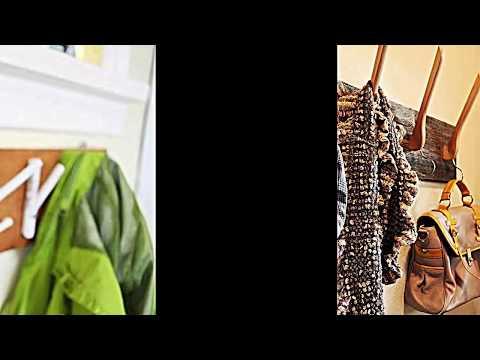 15 Kleiderhaken Ideen zum Selbermachen -- Flur und Kinderzimmer Dekor