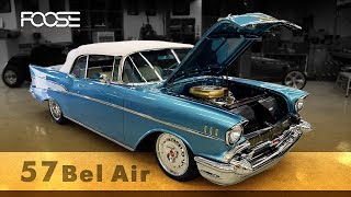 Foose Design 1957 Chevy Bel Air Restomod