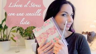 Libera el stress con la lista al terminar. Organización fácil