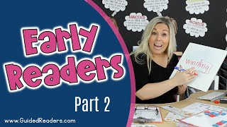 Guided Reading | How To Teach Guided Reading To Early Readers Part 2