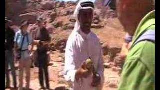 Bedouin salesman in Petra-Jordan