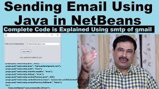 How to Send Email Using Java in NetBeans
