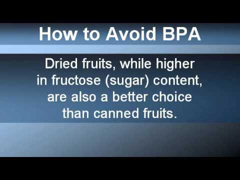 Avoiding BPA