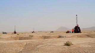 "Afghanite first ""20 km drilling length"""