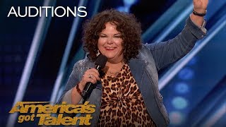 Vicki Barbolak: Comedian Finally Gets Her Joan Rivers Moment - America's Got Talent 2018