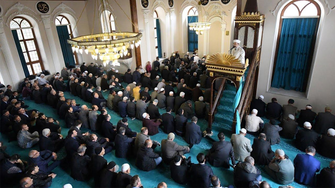Tekirdağ Orta Camii I Cuma Hutbesi I 31.03.2017