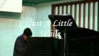 Just A Little While and Meeting In The Air Medley by Randy Dyt Bareng on piano.wmv