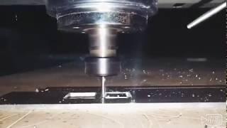 Mini Luminous Sign CNC Router for Cutting 15mm Aluminum like Cutting Tofu