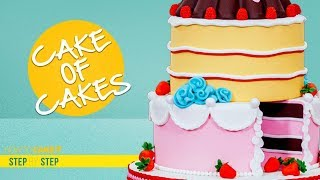 How To Make The Ultimate CAKE | Cake of Cakes Tutorial | How To Cake It | Yolanda Gampp