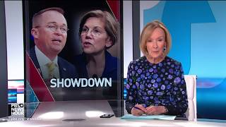 Elizabeth Warren and Mick Mulvaney face off over consumer protection bureau