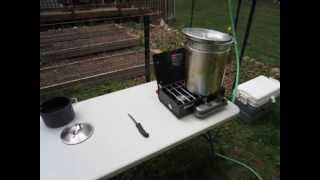 Simple Backyard Chicken Slaughtering Setup
