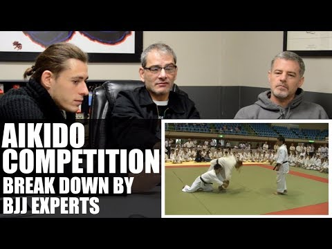 BJJ Experts Break Down Aikido Competition • Tomiki Aikido / Shodokan Aikido