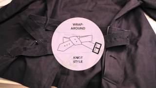 Sartorial Tips #1: How to Tie a Trench Coat Belt in the Back Two Ways