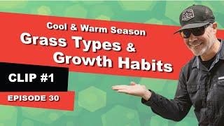 Grass Types & Growth Habits   Cool Season & Warm Season Grasses