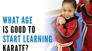 What Age is Good to Start Learning Karate