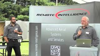 preview picture of video 'Remote Intelligence demonstrates unmanned drone aircraft in Wellsboro'