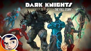 Evil Batman Origins of the Dark Multiverse - Full Story | Comicstorian