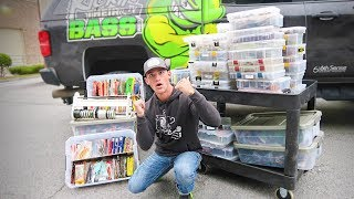 $20,000 LARGEST Fishing Tackle Tour (WORLD RECORD?)