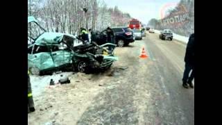 Страшное ДТП на трассе Котлас-Коряжма