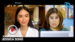 Kapuso Mo, Jessica Soho: Heart to heart with Heart Evangelista