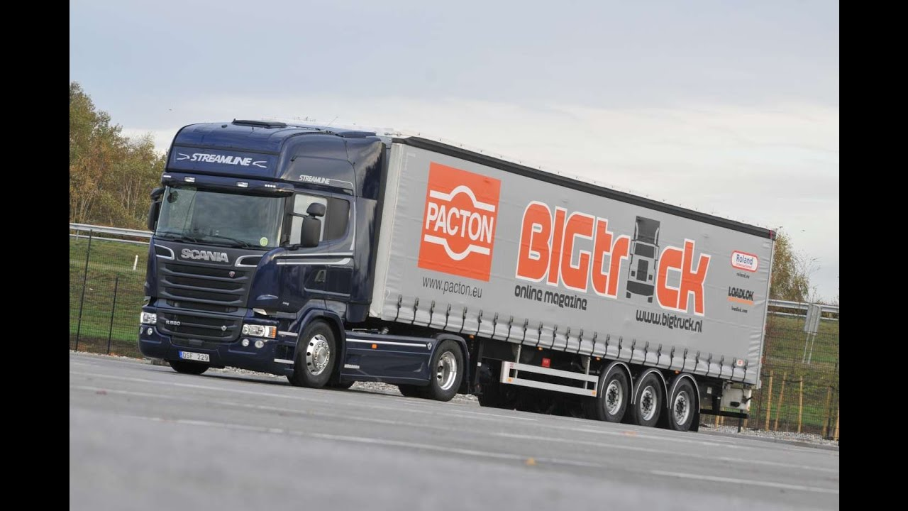 BIGtruck RoadTest Scania R580