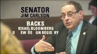 Minnesota Senator Jim Carlson: Bloomberg's