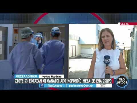 Αλλάζει η είσοδος στο εμβολιαστικό κέντρο, λόγω της 85ης ΔΕΘ | 06/09/2021 | ΕΡΤ