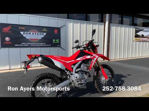 2019 Honda CRF250L in Greenville, North Carolina - Video 1