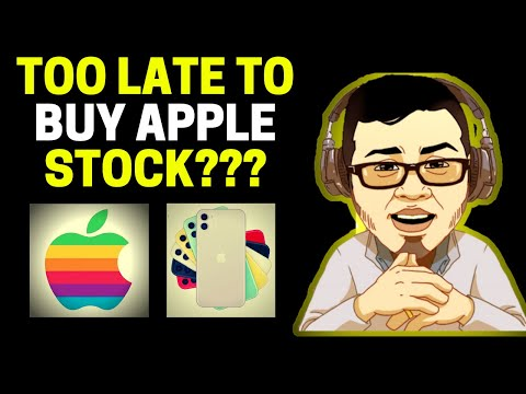 TOO LATE TO BUY APPLE STOCK? STOCK SPLIT! (AAPL STOCK EARNINGS ANALYSIS)