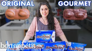 Pastry Chef Attempts to Make Gourmet Almond Joys | Gourmet Makes | Bon Appétit