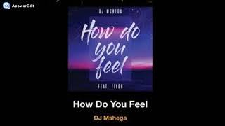 Dj Mshega ft Zion   How do you feel