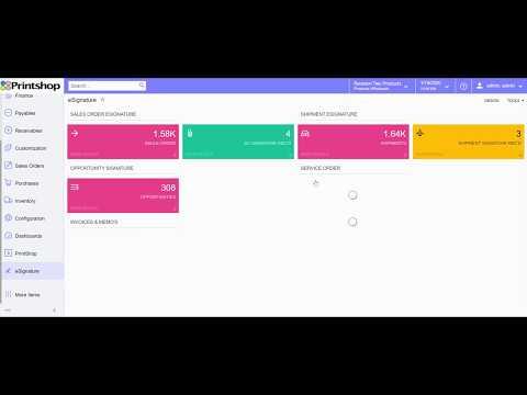 eSignature on Shipment Screen