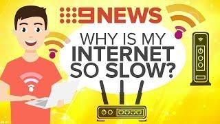 How to make your internet faster | Nine News Australia