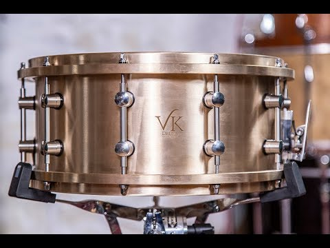 VK Drums VKast Bronze Snare Drum – Drummer's Review