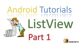 #72 Android ListView Tutorial Part 1: Android Tutorial For Beginners [HD 1080p]