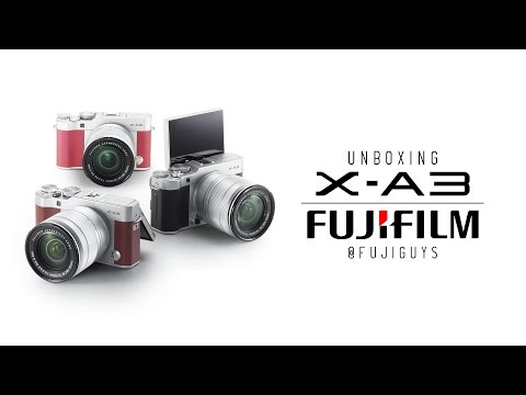 Fuji Guys - FUJIFILM X-A3 - Unboxing and Getting Started