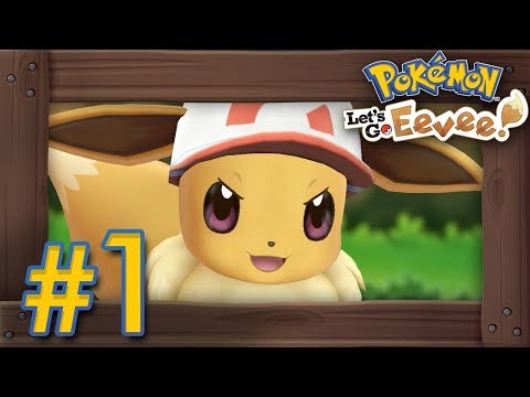 Pokémon Let's Go Pikachu & Eevee: Walkthrough Part 1 – Intro, Veridian Forest & Pewter Gym
