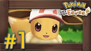 Pokémon Let's Go Pikachu & Eevee: Walkthrough Part 1 - Intro, Veridian Forest & Pewter Gym
